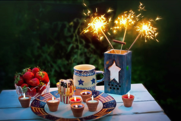 Home on the Fourth of July | Staying in on the Fourth of July